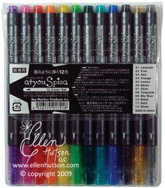 Copic Spica Glitter Pen Set A