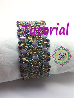 Tutorial per creare un bracciale double face con Silky Beads, O Beads, Mezzi Cristalli, Superduo e Rocailles in tessitura di perline di MagichePietre su Etsy https://www.etsy.com/it/listing/195840259/tutorial-per-creare-un-bracciale-double