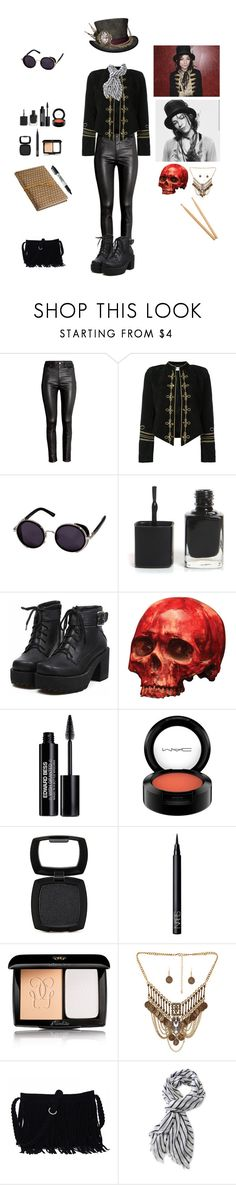"""Emerson Barrett inspired 2"" by frankieropenceyprep ❤ liked on Polyvore featuring H&M, Yves Saint Laurent, Edward Bess, MAC Cosmetics, Forever 21, NARS Cosmetics, Guerlain, Steinbach, L.L.Bean and NOVICA"