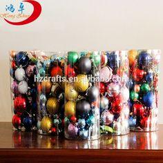 Christmas balls Christmas decoration gift colorful plastic christmas ball