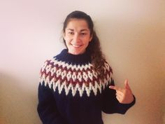 Wohooo!!! Icelandic sweater made by me!!!
