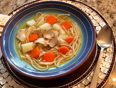 Delicious Homemade Chicken Soup