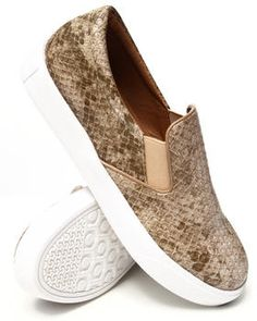 Love this Pivot Faux Snakeskin Slip On Sneaker by Fashion... on DrJays. Take a look and get 20% off your next order!