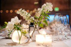 Elegant Mix & Match Glass Vase Centerpieces