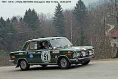 """FIAT 125 S """" 2 Rally HISTORIC Valsugana  20.03.2010 """""""