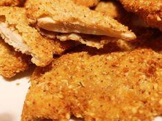 Csirkemell mandulás-kókuszos bundában Krispie Treats, Rice Krispies, Cornbread, Food And Drink, Ethnic Recipes, Millet Bread, Rice Krispie Treats, Corn Bread