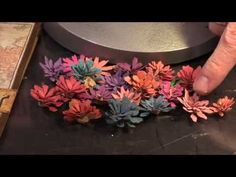Tiny Tattered Floral by Tim Holtz from Sizzix - CHA 2015 Video