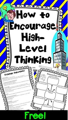 Free Resource! What is an effective way to get your students thinking at a deeper level? Let me share what works well for my students! Free Resource for your classroom! Rachel Lynette has my idea posted on her blog! 1. Lesson Plans for any book (2 pages)