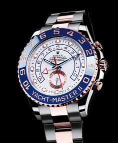Rolex Yacht Master II - Follow us  you will follow your dreams http://www.1worldand1vision.com