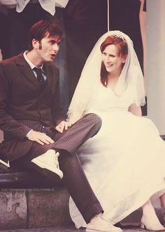 David Tennant and Catherine Tate I really loved Donna and the Doctor. They were a great team. They always made me laugh. Gotta say she is one of my favourites.