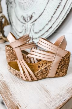 Cute Shoes, Me Too Shoes, Casual Wedding Guest Dresses, Beautiful Sandals, Strappy Wedges, Crazy Shoes, Shoe Boots, My Style, Boutique Shop