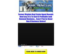 ① Junk Removal Video Course Profits - http://www.vnulab.be/lab-review/%e2%91%a0-junk-removal-video-course-profits
