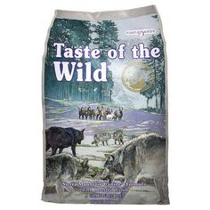 Taste of The Wild Grain Free Premium High Protein Dry Dog Food Sierra Mountain - Roasted Lamb - Pets Best Dog Food, Dry Dog Food, Pet Food, Tenerife, Omega Fettsäuren, Dog Food Reviews, Wild Dogs, Food Allergies, Natural Flavors