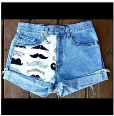 Omg mustache pants must have