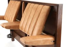 Rare Edward Wormley for Dunbar Adjustable Reclining Queen Headboard Modern Headboard, Queen Headboard, Headboards For Beds, Home Design, Bed Back Design, Bed In Corner, Smart Bed, Diy Daybed, Tiny Living Rooms