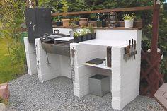 """Vinnare i tävlingen """"Läsarnas bästa sommarprojekt"""". Nu är tävlingen om läsarnas bästa sommarprojekt avgjord! Här är de tre vinnande idéerna – från en vacker pergola till en bakugn, utekök och växthus av glasfönster. #diy Modern Outdoor Pizza Ovens, Simple Outdoor Kitchen, Outdoor Cooking Area, Outdoor Oven, Outdoor Kitchen Design, Pergola, Modern Outdoor Fireplace, Outdoor Barbeque, Brick Bbq"""