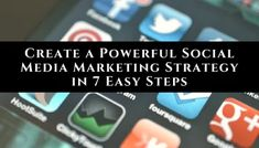 Top advice for creating a highly effective marketing strategy that works no matter which social media channel you primarily use for your business. Social Media Marketing Business, Marketing Software, Multi Level Marketing, Marketing Plan, Content Marketing, Internet Marketing, Online Marketing, Affiliate Marketing, Digital Marketing