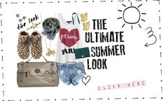 The Ultimate Summer Look from 9straatjesonline.com: also check it at www.fashiolista.com!