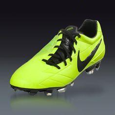 Nike Total90 Laser IV  - Volt/Citron/Black  Firm Ground Soccer Shoes