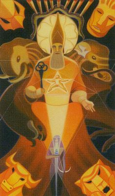 Hierophant - Liber T: Tarot of Stars Eternal,