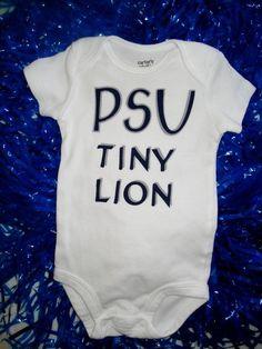 Penn State Onesie by PreSchoolSpirit on Etsy, $15.00