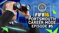 FIFA 16 | Portsmouth Career Mode #5 - SCOUTING A FUTURE STAR!!! #JayBuck...