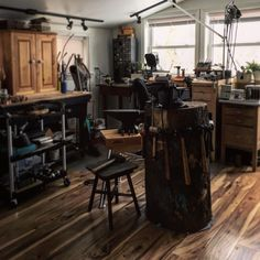 Stephanie Distler Artisan Jewelry studio #PAWildsmade #metals #studio #PAWilds