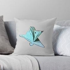 Origami Mouse, Designer Throw Pillows, Pillow Design, Top Artists, My Arts, Vibrant, Art Prints, Cool Stuff, Printed