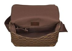 dcebf1e99ceb Коричневая сумка lOUIS VUITTON DAMIER BROOKLYN PM Louis Vuitton Damier,  Messenger Bag Men, Men s
