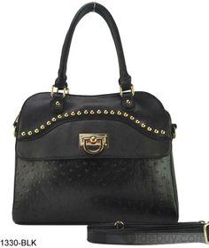 Color, Bags , $50.99, Distinctive Pure Color with Rivet Women's One-shoulder Bag