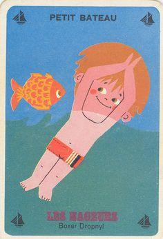 Pub Vintage, Vintage Cards, Vintage Books, Vintage Images, Vintage Posters, Illustration Mignonne, Retro Illustration, Kawaii, Illustrations And Posters