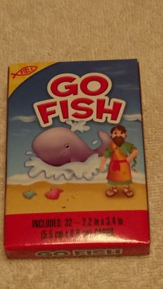 bible go fish card game