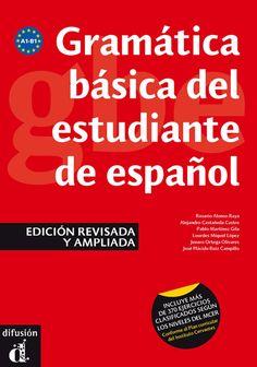 Gramática básica del estudiante de español. Ed. Difusión. Más info: http://www.difusion.com/ele/coleccion/gramatica/0/gramatica-basica-del-estudiante-de-espanol/referencia/gramatica-basica-del-estudiante-de-espanol-edicion-revisada-y-ampliada/