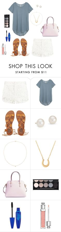 """Zoo Day"" by walzfashion ❤ liked on Polyvore featuring IRO, Billabong, Blue Nile, Sole Society, Eklexic, Kate Spade, Witchery, Maybelline and Christian Dior"
