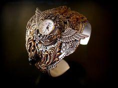 Steampunk Watch Cuff
