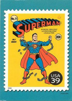 US Stamp 2006 - DC Comics Super Heroes Superman