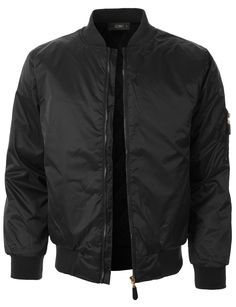 This lightweight quilted full zip up bomber jacket with elbow patches is the essential piece you must add to your wardrobe. Sleek, versatile and undeniably cool along with its unfettered design that l
