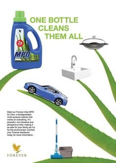 Forever Aloe MPD® – a liquid detergent that is highly effective and economical. Forever Aloe MPD® is a multi-purpose, liquid concentrated detergent. http://360000339313.fbo.foreverliving.com/page/products/all-products/7-personal-care/307/usa/en Need help? http://istenhozott.flp.com/contact.jsf?language=en Buy it http://istenhozott.flp.com/shop.jsf?language=en