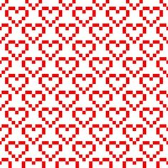 Ornamental Pattern For Knitting And Embroidery Heart Stock Photos Images & Pictures Fair Isle Knitting Patterns, Knitting Charts, Knitting Stitches, Cross Stitch Borders, Cross Stitch Designs, Cross Stitch Patterns, Embroidery Hearts, Cross Stitch Embroidery, Crochet Chart