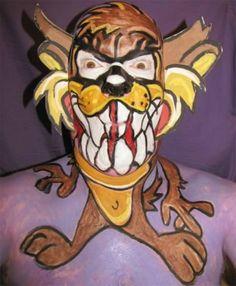 taz face paint