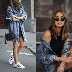 Spain Women NEW AW16 Oversized Ripped BLUE LONG DENIM JACKET Jean Coat 5252/012   Clothing, Shoes & Accessories, Women's Clothing, Coats & Jackets   eBay!