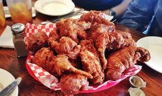 Can you really go wrong with fried chicken? Perhaps not. However, you can certainly go very, very ri... - Photo Modified: Flickr / Arnold Gatilao / CC BY 4.0