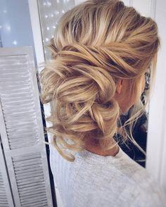 Gorgeous romantic wedding hair