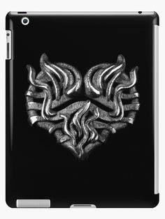Are you a dark soul with a burning heavy metal heart? Fire Heart, Lip Designs, Dark Souls, Laptop Skin, Ipad Case, Heavy Metal, Lion Sculpture, Product Launch
