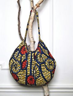 fashion africa | This colorful African print hobo, by DellaLA , scores major points ...