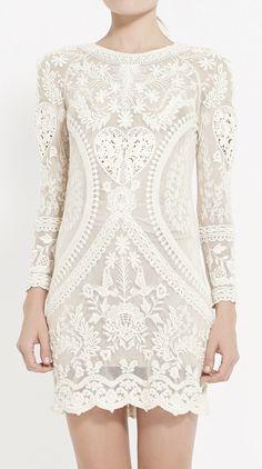 Dress, lace, fashion, style, srping, Vaunte