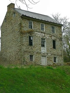 Abandoned house in Harpers Ferry, West Virginia