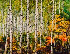 Autumn, Fall, Trees, Painting, Rock, Halloween, Flowers, Inspiration, Biblical Inspiration