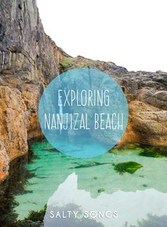 Exploring Nanjizal Beach