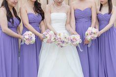 Real David's Bridal bride in WHITE by Vera Wang organza tulle ball gown wedding dress available at David's Bridal | F29 Studios